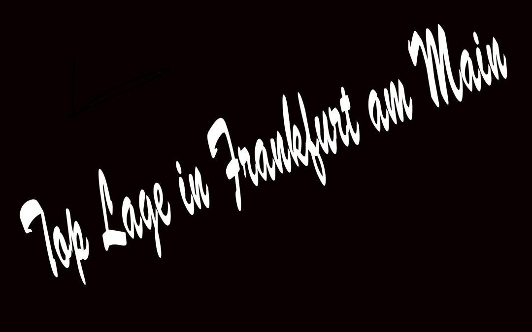 #GASTRONOMIEFLÄCHE #1A LAGE #MIT TERRASSE #FRANKFURT AM MAIN #2020-527
