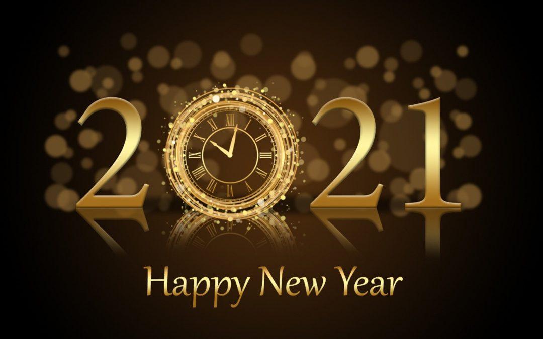 Wir wünschen Ihnen Allen ein frohes neues Jahr 2021, viel Gesundheit und freuen uns auf die weitere Zusammenarbeit !